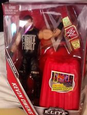MATTEL~WWE ~ELITE COLLECTION~SERIES #47 A~KEVIN OWENS~16 NIP~RED TABLE &  BELT