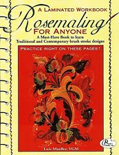 Rosemaling for Anyone by Lois Mueller VGM  NEW Laminated Book Norwegian