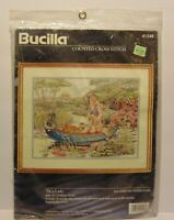 Rare New Sealed Tis A Lady Bucilla 1996 Counted Cross Stitch Kit By Diana Thomas