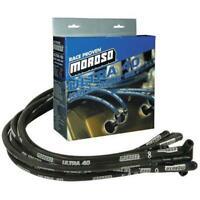 Moroso 73824 Ultra 40 Sleeved Plug Wires SBC
