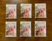 48 BRIDAL SHOWER Invitation Card Wedding Tea HALLMARK Shower Envelope 6 PACKS