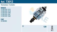 Abstellvorrichtung, Einspritzanlage für Gemischaufbereitung FAE 73012