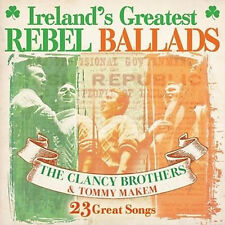 The Clancy Brothers and Tommy Makem - Ireland's Greatest Rebel Ballads 23 songs