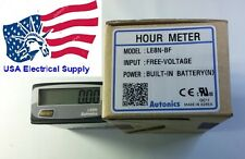 New LCD Digital Timer Time Indicator LE8N-BF, Free voltage input