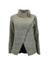 AMAVISSE UK - Women Winter Fashion Jumper Sweater Top Long Sleeves TurtleNeck