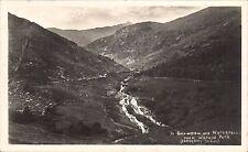 Snowdon Mountain Railway Official # 59 by Abrahams. Snowdon & Waterfall.