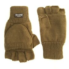 FinRaiderz 3M Thinsulate Shooters Mitts - Green Outdoors Winter Gloves
