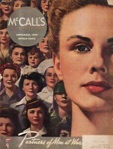 1943 McCalls - September - The 4-4 Plan;  Women's jobs for the war duration