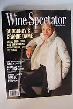 Wine Spectator Magazine June 30 2015 Back Issue