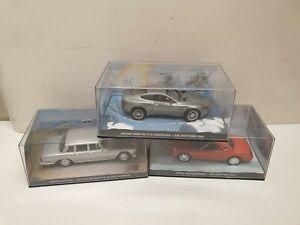 IXO James Bond lot de 3 voitures  1/43
