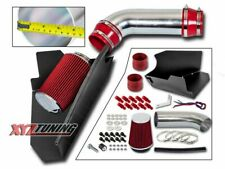 """4"""" RED Heat Shield Cold Air Intake + Filter For 96-00 C/K 1500/2500/3500 V8"""