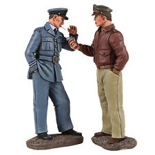 Britains World War 2 Allies 25029 Usaaf Pilot Lighting Cigarette For Rcaf Mib