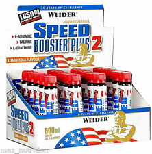 Weider Speed Booster plus 2 Ampullen Lemon Cola 20 X 25ml PZN 8057086