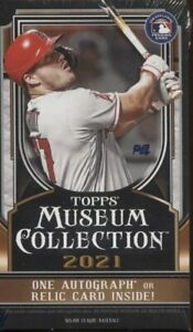 NEW YORK YANKEES 2021 MUSEUM COLLECTION 1 MINI BOX 5 CARDS LIVE BREAK READ