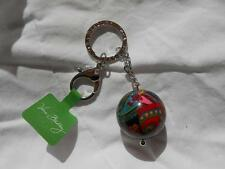 NWT VERA BRADLEY Symphony in Hue Have a Ball Key chain w claw valet clasp NEW