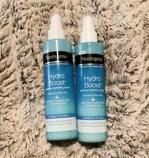 2 Neutrogena Hydro Boost Express Hydrating Spray 6.7oz/200 ml USA New