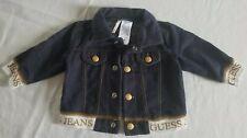 Baby Guess Girls Faux Denim Jacket Cardigan ~ Size 3-6 Months