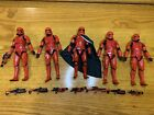Star Wars Black Series Captain Cardinal Exclusive And  Sith Trooper Lot