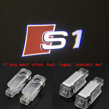 2x Laser LED Logo Door Lamp Puddle Courtesy Projector Shadow Lights For AUDI S1
