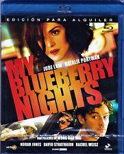 Wong Kar-Wai: MY BLUEBERRY NIGHTS. BLU-RAY. Tarifa plana en envío España, 5 €