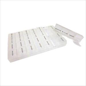 Pillendose Tablettenbox Tablettendose Medikamentendose 7 Tage