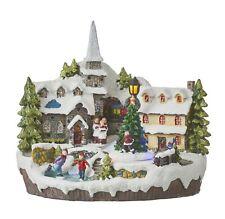 Luville-Christmas Village 2, Weihnachtsdorf, Winterdorf, LED,