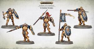 5 Vindictors - Age of Sigmar Dominion / Vorherrschaft - Stormcast Eternals