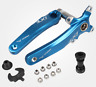 Mountain Bike Crankset 170mm BCD104 Crank Arms & Bottom Bracket & Chainring Blue