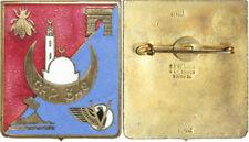 349° Groupe de Fabrication du Pain, émail, doré, déposé, G.E.Mardini