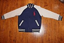 Ralph Lauren Boys Navy & Gray Jacket (Big Pony)- Size 6 - NWT
