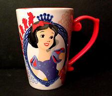 DISNEY STORE Mug PRINCESS SNOW WHITE 2016 Ceramic Cup NEW