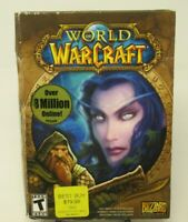 WORLD OF WARCRAFT 6-DISC PC CD-ROM GAME FOR WIN 2000/XP/MAC, BLIZZARD ENT.