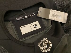 ADIDAS NHL-PRO ON ICE-SALUTE TO SERVICE-LIMITED-JERSEY-58-NWT $280 MSRP-HOCKEY🔥