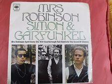 Simon & Garfunkel - Mrs. Robinson EP - CBS EP 6400
