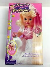 "New Bride Surprise 14"" Baby Doll 1995 by Kenner Growing Hair Doll 9367 Lil Miss"