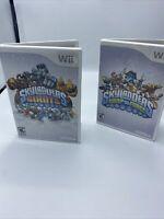 Skylanders Swap Force& Giants  Nintendo Wii Game Only Tested Works. 2 Games!!!!