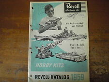 Prospekt Sales Brochure Revell Autos Schiffe Authentic Kits Truck  автомобиль