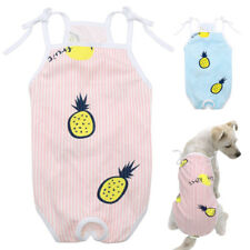 Soft Pet Dog Sanitary Panties Physiological Shorts for Dogs Pineapple Pattern
