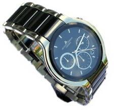 Jacques Lemans Armbanduhr Chronograph Model 1-1580 Herren Ceramic