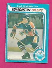 1979-80 OPC  # 371 OILERS DAVE SEMENKO ROOKIE EX+  CARD (INV# C4531)