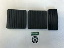 Bearmach Land Rover Defender 90, 110, 130 Pedal Pad Rubbers Set x 3