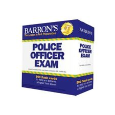 Barron's Police Officer Exam Flash Cards New Sealed Set by Donald Schroeder Ph.D