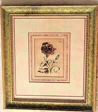 Traditional Style Art Botanical Floral Print, Original Antique Botanical Flower