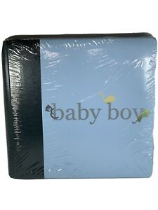 Newborn baby boy scrapbook photo album new See Pic And Description