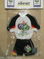 Deutschland - Germany Trikot Mini-Kit klein Fussball WM EM passend für WM18