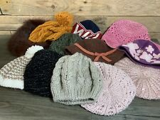 12 x Ladies Beanies and Other Various Style Hats Bundle Job Lot