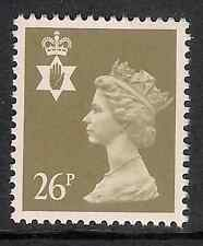 Northern Ireland 1990 NI61 26p litho phosphorised paper Regional Machin MNH