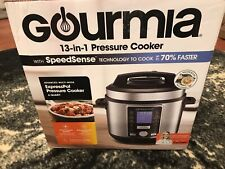New! Gourmia GPC965 6 Qt Digital SmartPot Multi-Function Pressure Cooker