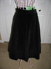 Vintage Black Velvet Skirt - Theater, Costume, Retro Wear