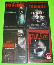Horror DVD Lot - The Grudge Trilogy (New) Pulse (Japanese Horror, New)